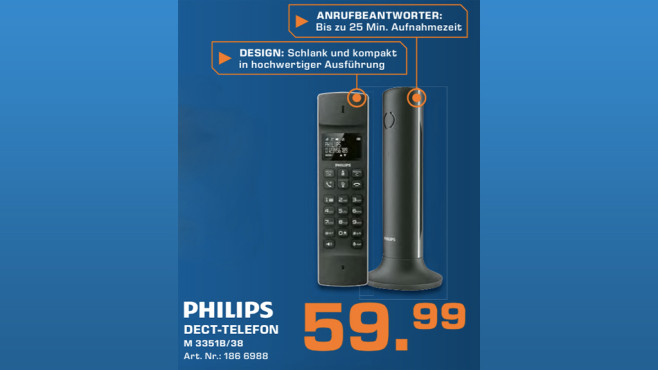 Philips Linea M3351 © Saturn