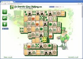 Mahjong zum St. Patricks Day