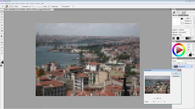 Artweaver Free: Kunstwerke erstellen und bearbeiten ©COMPUTER BILD