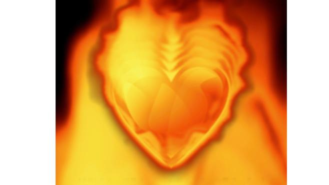Heart On Fire Screensaver: Brennendes Herz für zwischendurch ©COMPUTER BILD