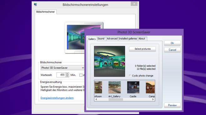 Photo 3D Screensaver: Fotos gebührend präsentieren ©COMPUTER BILD