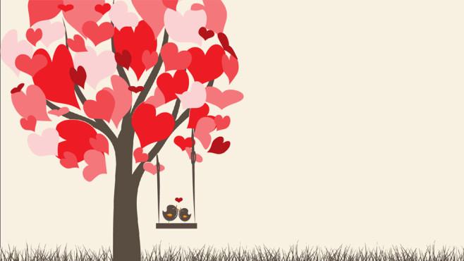 Verliebte Vögel: Herzergreifende Naturkulisse ©COMPUTER BILD
