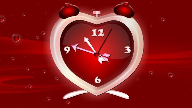 nfsHeartClock: Uhr mit Herzen ©COMPUTER BILD