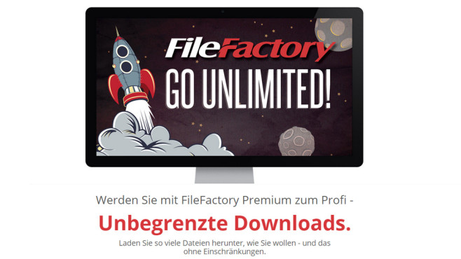 FileFactory: Filehoster ©FileFactory