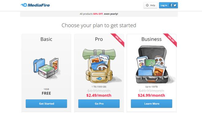MediaFire: Filehoster ©MediaFire