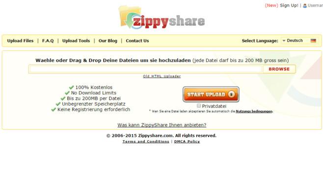 Zippyshare: Filehoster ©Zippyshare