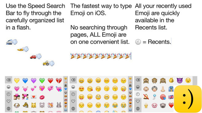 Emoji++ � The Fast Emoji Keyboard © Cross Forward Consulting, LLC