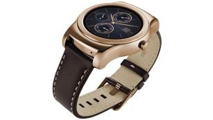 LG Watch Urbane in Gold ©LG Electronics