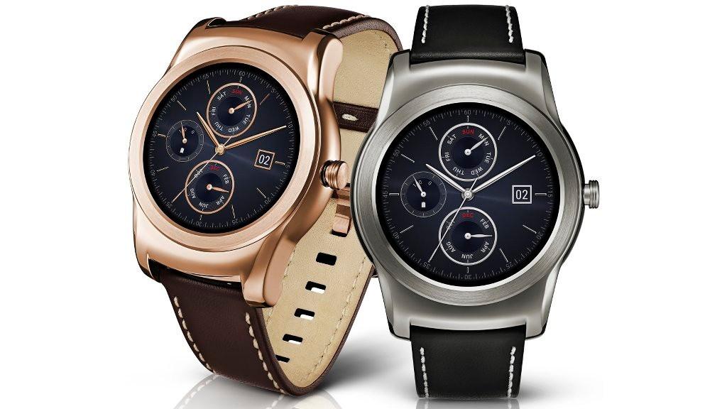 LG Watch Urbane in Gold und Silber ©LG Electronics