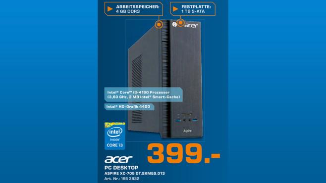 Acer Aspire XC-705 DT.SXMEG.013 ©Saturn