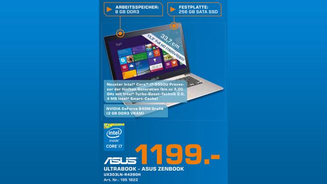 Asus Zenbook UX303LN-R4290H ©Saturn