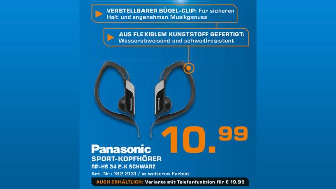 Panasonic RP-HS34E ©Saturn
