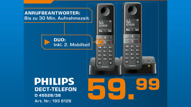 Philips D4552B/38 © Saturn