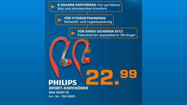 Philips SHQ3200 © Saturn