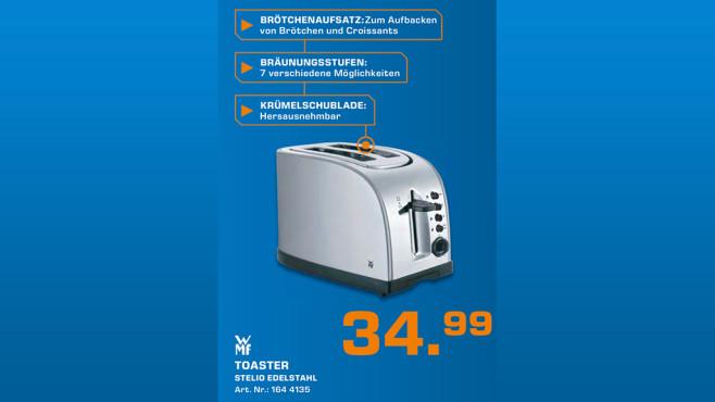 WMF Stelio Toaster ©Saturn