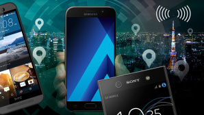 Smartphone-Empfang im Test ©Samsung, HTC, Sony, ©istock.com/chombosan