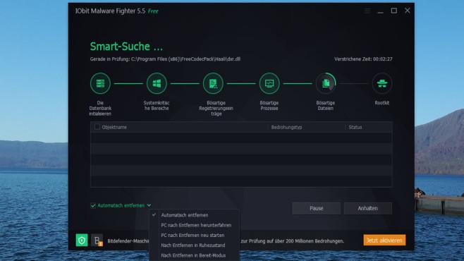 IObit: IObit Malware Fighter Free ©COMPUTER BILD