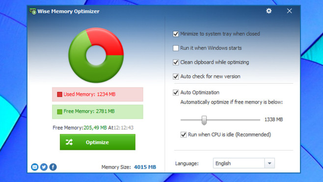 Wise: Wise Memory Optimizer © COMPUTER BILD