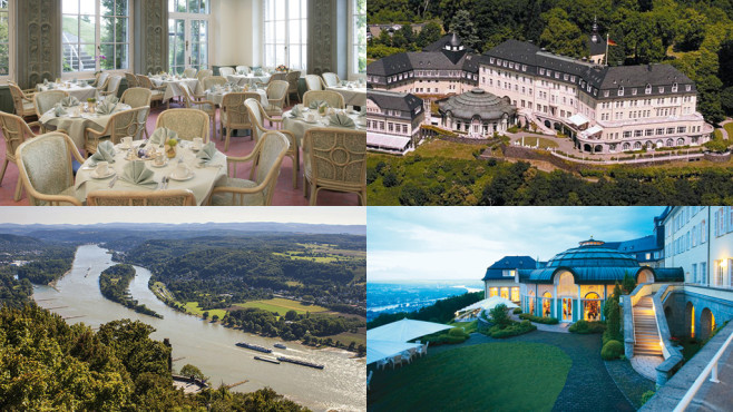 Petersberg bei Bonn, Deutschland – Steigenberger Grandhotel Petersberg © Secret Escapes