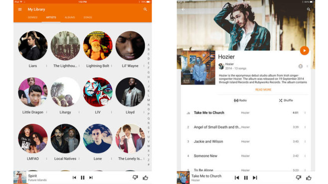 how to get music from google play to computer