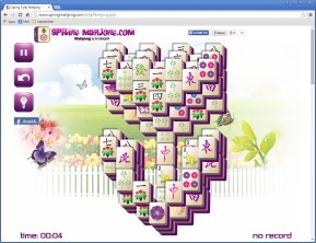 Frühlings-Mahjong