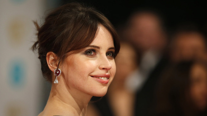 Felicity Jones © Justin Tallis/AFP/Getty Images