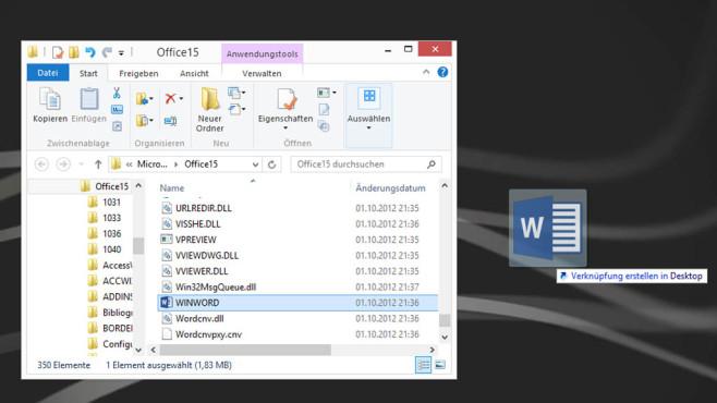 Datei herausziehen ©COMPUTER BILD
