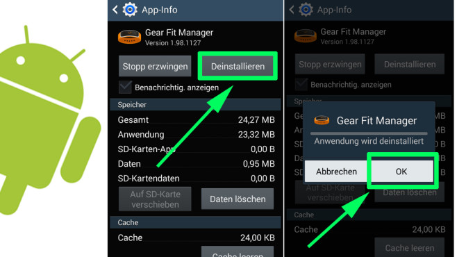 Android: Apps verwalten ©COMPUTER BILD