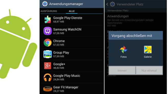 Android: Speicher prüfen und verwalten ©COMPUTER BILD