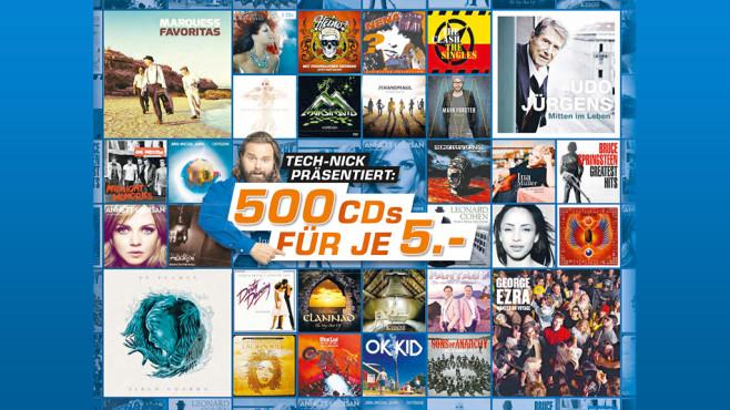 ... noch mehr Musik-CDs ©Saturn