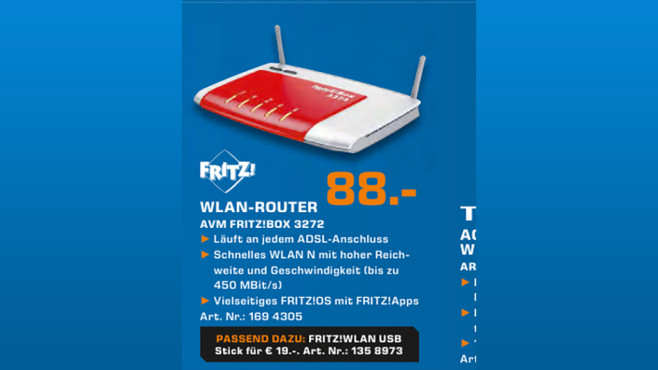 AVM FRITZ!Box 3272 © Saturn