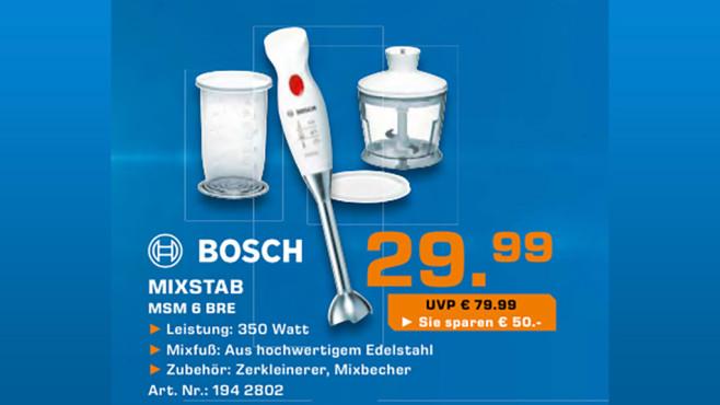 Bosch MSM6BRE ©Saturn