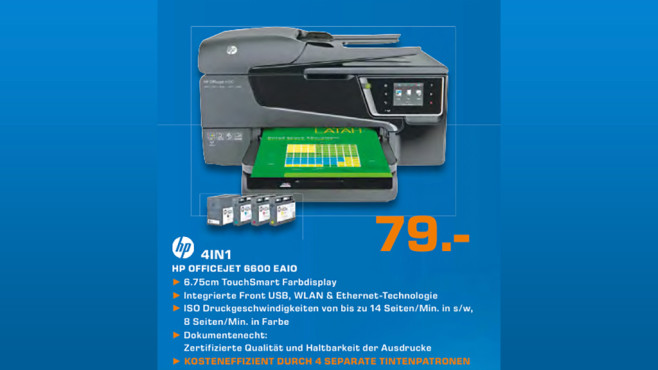 HP Officejet 6600 © Saturn