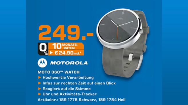 Motorola Moto 360 ©Saturn