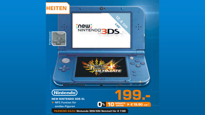 Nintendo New 3DS XL © Saturn