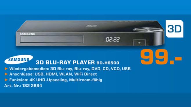 Samsung BD-H6500 ©Saturn