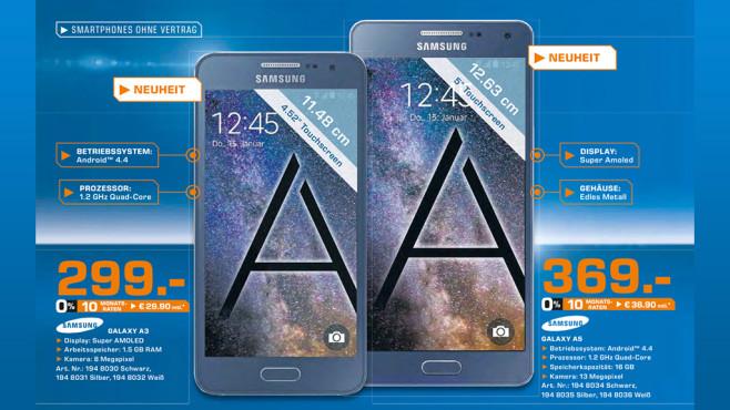 Samsung Galaxy A5 ©Saturn