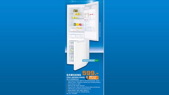 Samsung RB31FERNBWW ©Saturn
