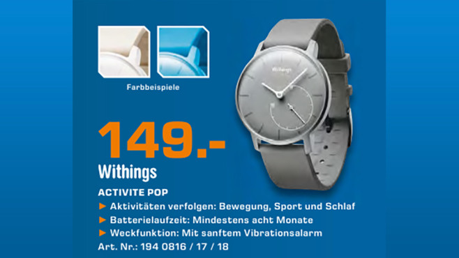 Withings Activité Pop © Saturn