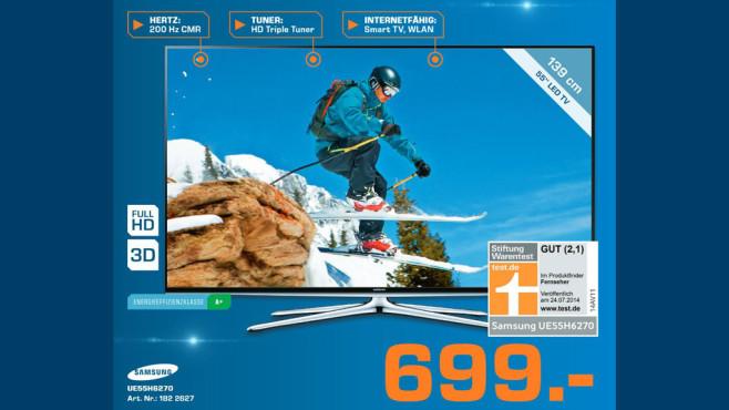 Samsung UE55H6270 ©Saturn