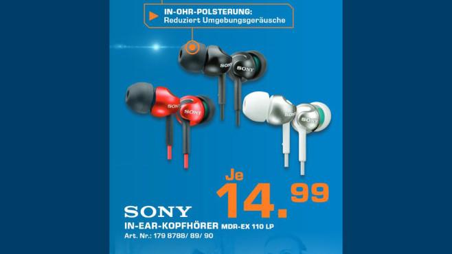 Sony MDR-EX110 ©Saturn