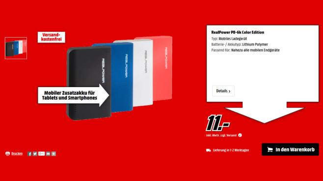 RealPower PB-6001 ©Media Markt