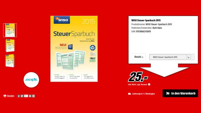 Software für PC und Mac ©Media Markt