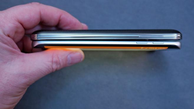 Farben Samsung Galaxy S6 Edge ©COMPUTER BILD