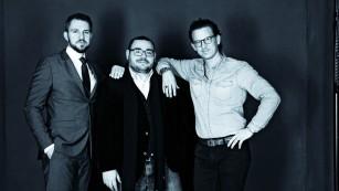 Patientus-Gründer Nicolas Schulwitz, Christo Stoyanov und Jonathan von Gratkowski ©Patientus