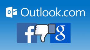 Outlook.com streicht die Chat-Unterstützung für Google und Facebook ©Microsoft, Facebook, Google, COMPUTER BILD
