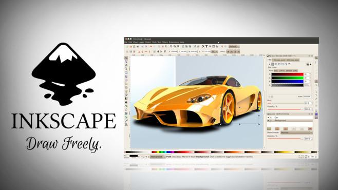 Inkscape: Bilder vektorisieren und ohne Qualitätsverlust vergrößern ©Inkscape