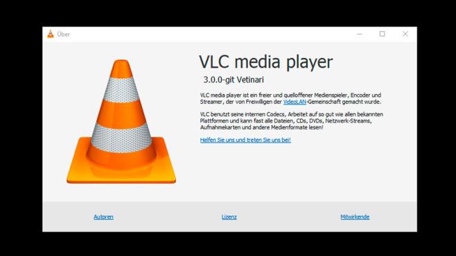 VLC Media-Player 3.0.0 ©COMPUTER BILD