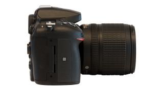 Nikon D7200 Gehäuse von oben ©Nikon