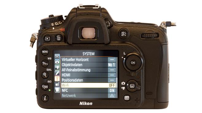 Nikon D7200 Rückseite ©Nikon
